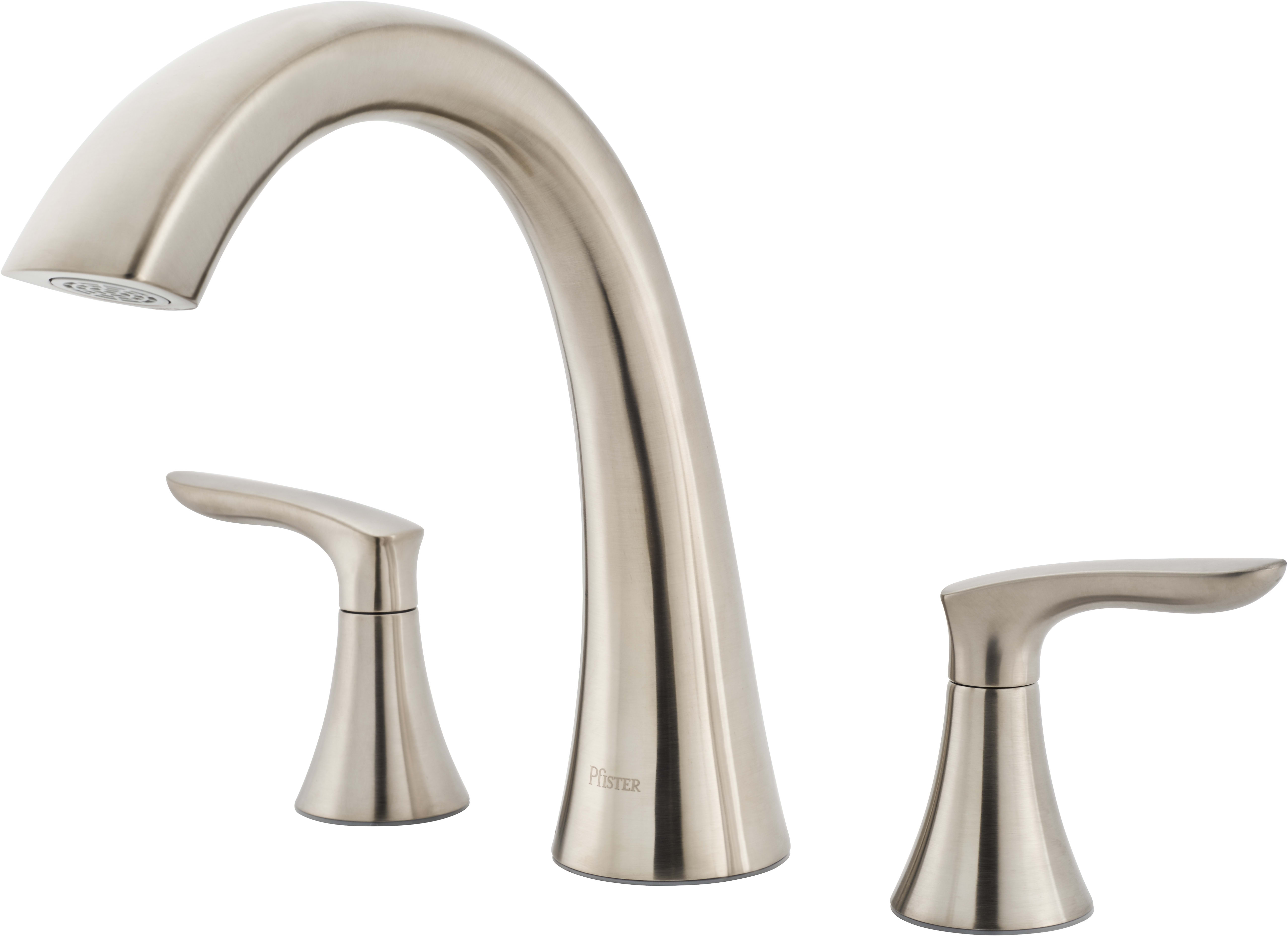 down kitchen in larger handle water pfirst faucet single dp pull pfister series model stainless view price tub steel efficient