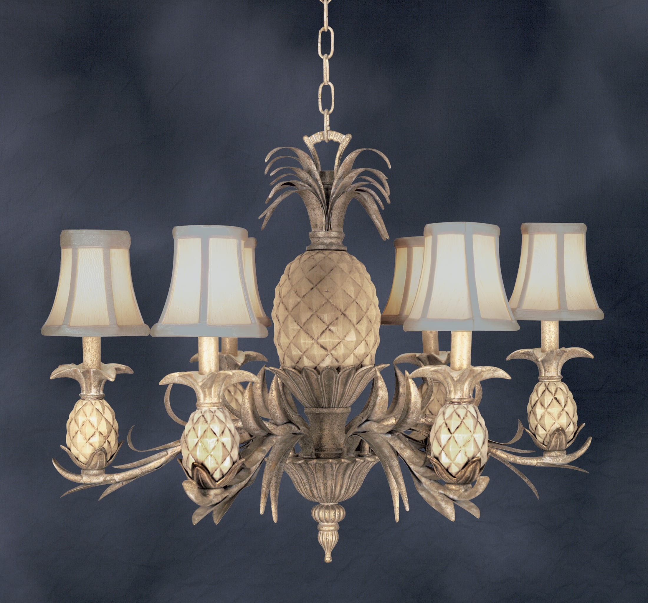 Quoizel La5022gc Gold Coast 6 Light Up Lighting Chandelier From The Lafayette Collection Lightingdirect Com