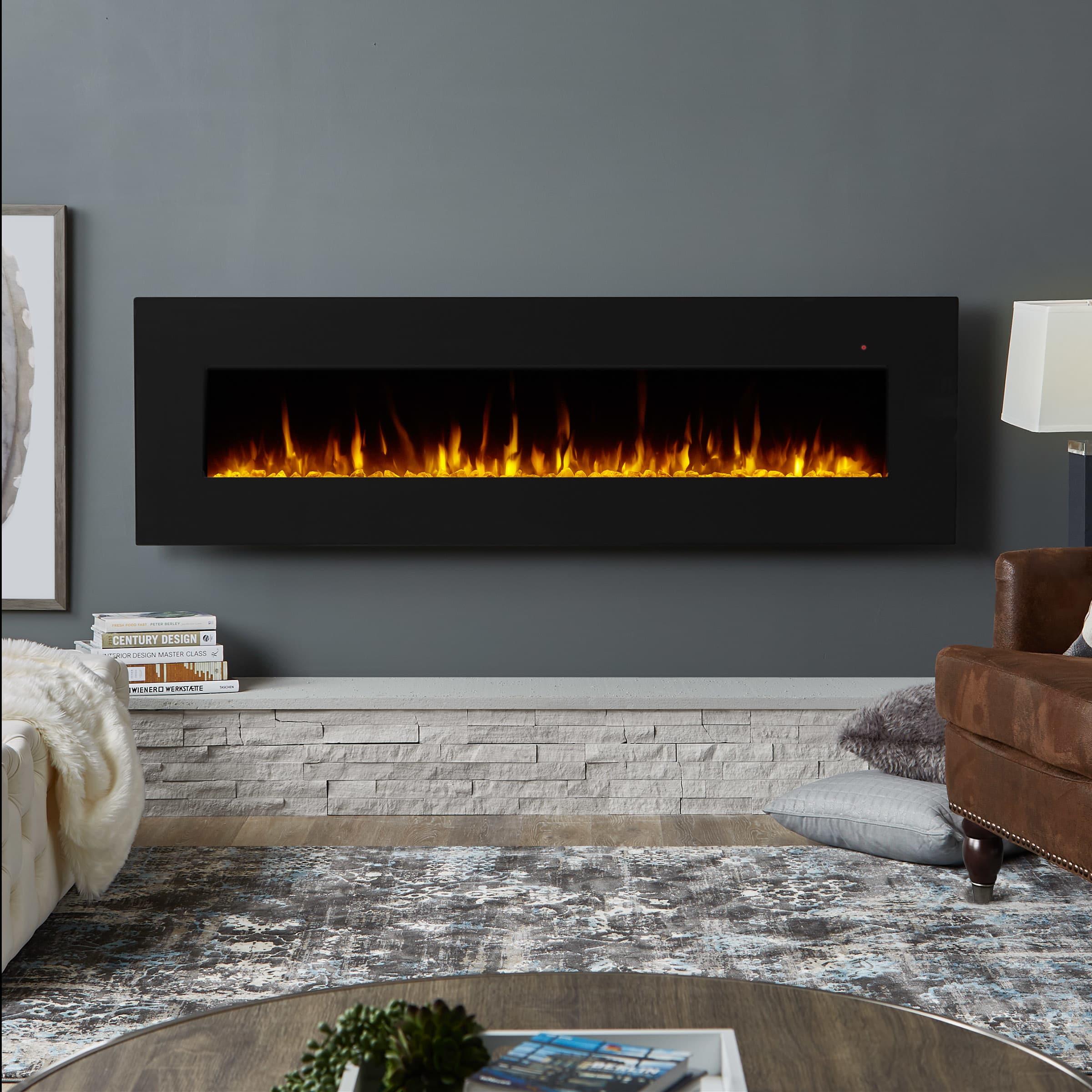 Real Flame Wall Mount Fireplace 1360e
