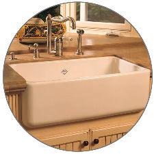 "Apron Kitchen Sinks rohl undefined black shaws 30"" single basin farmhouse fireclay"