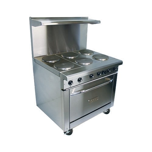 36 Electric Range 6 Burners And Standard Oven