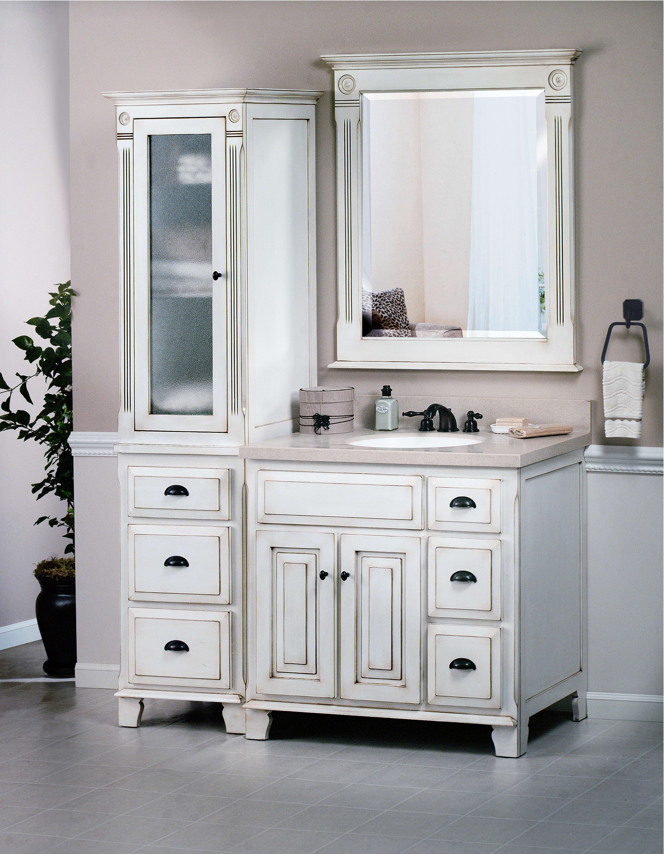 Sagehill Designs VQ3021D Glazed White Victorian 30\