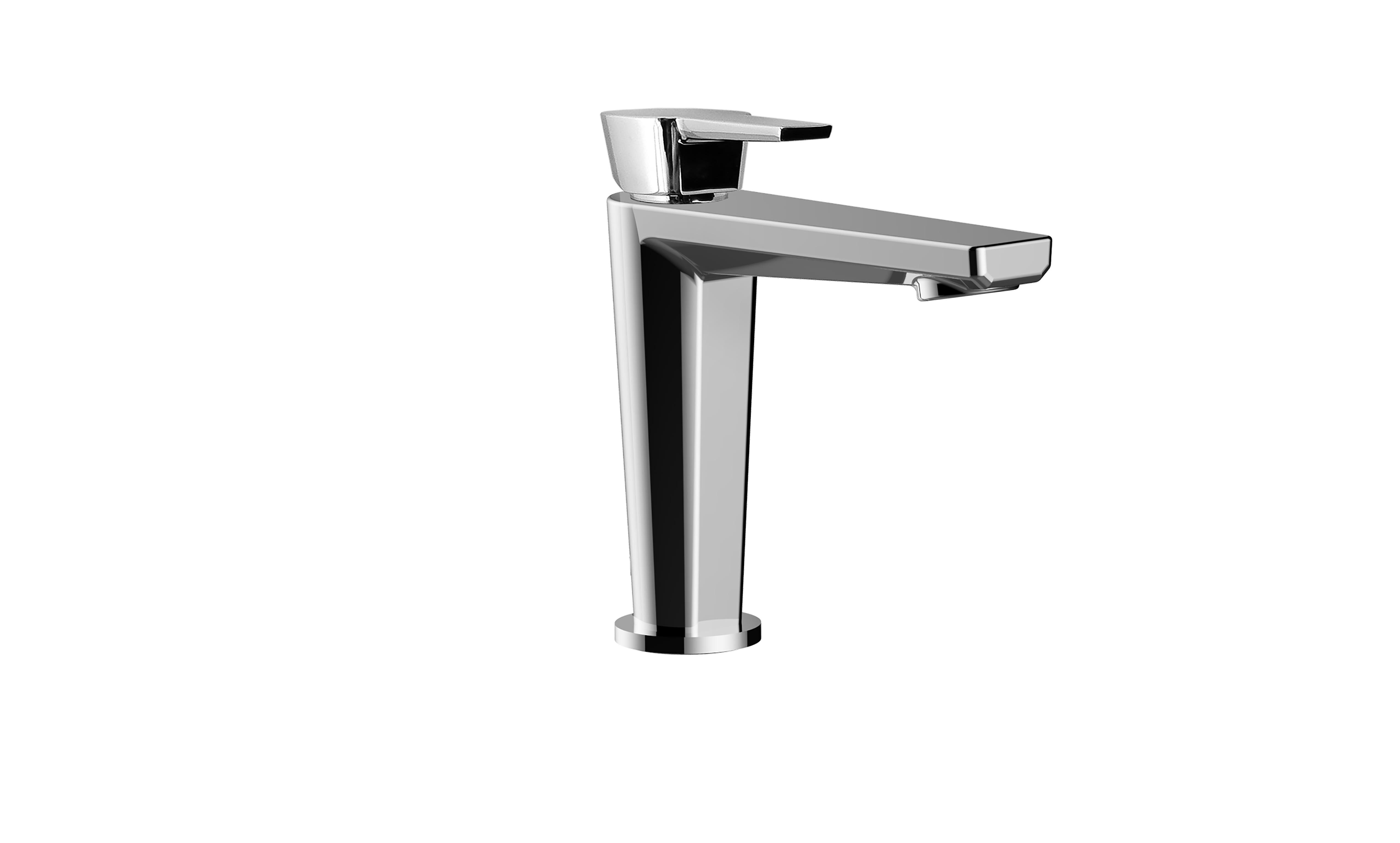 Santec 3780HY10 Polished Chrome Ebis 1.2 GPM Single Hole Bathroom ...