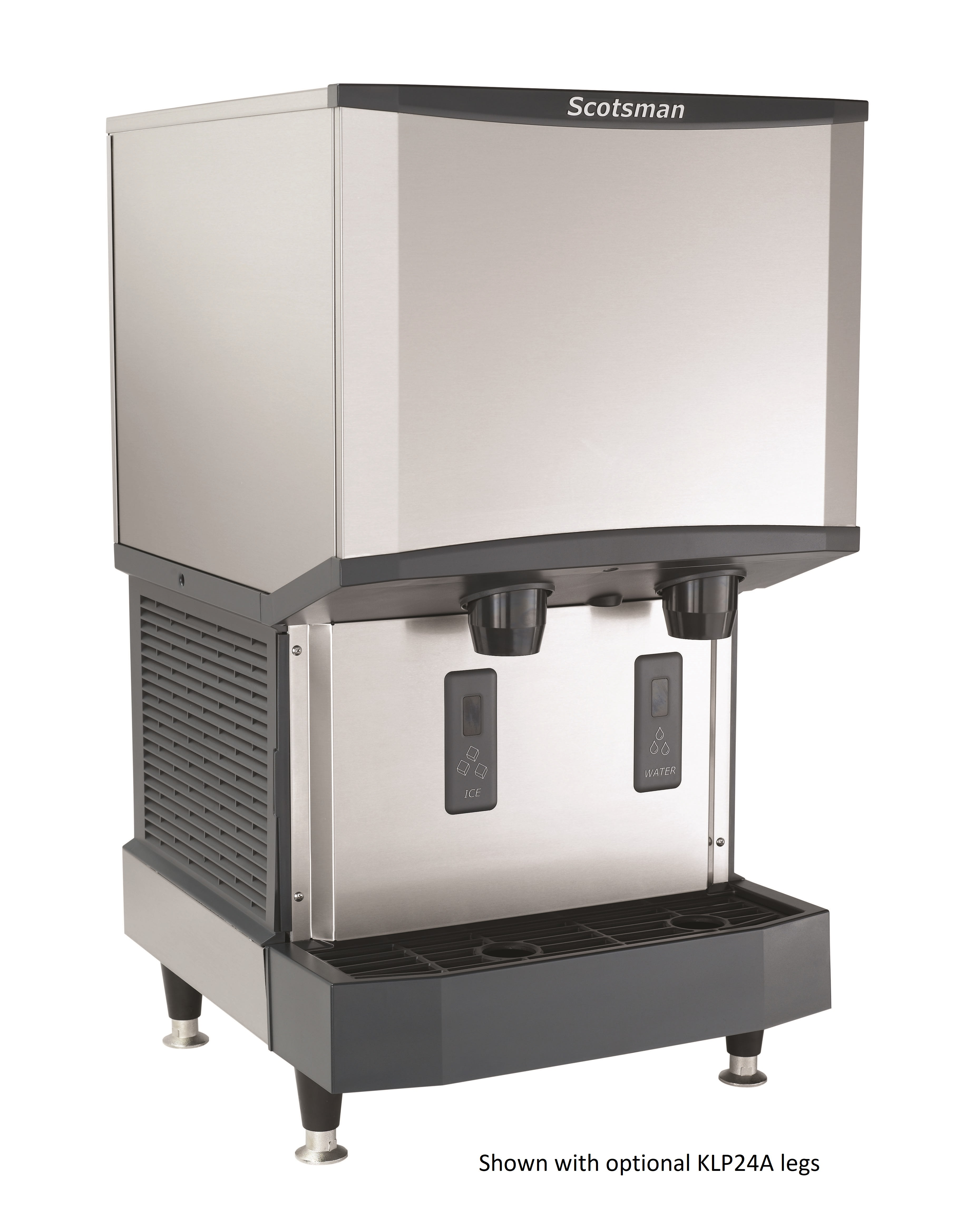Scotsman Hid525a 1a Meridian Ice Machine And Water Dispenser