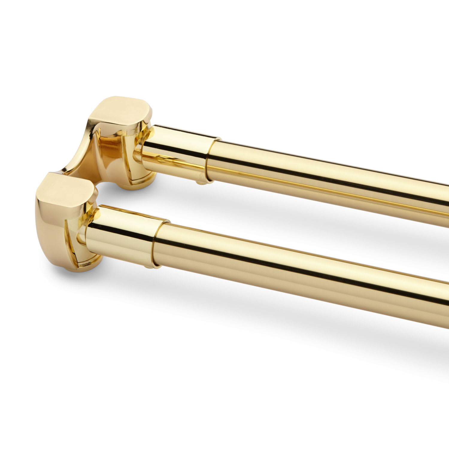 Signature Hardware 290213 Chrome 36 Solid Brass Double