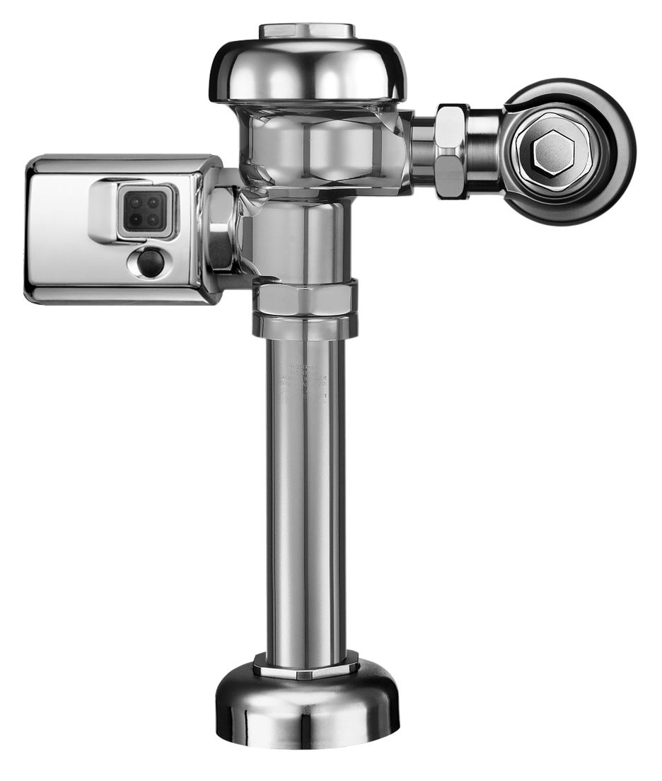 Sloan 3980189 Chrome Exposed, Battery Powered, Side Mount Operator ...