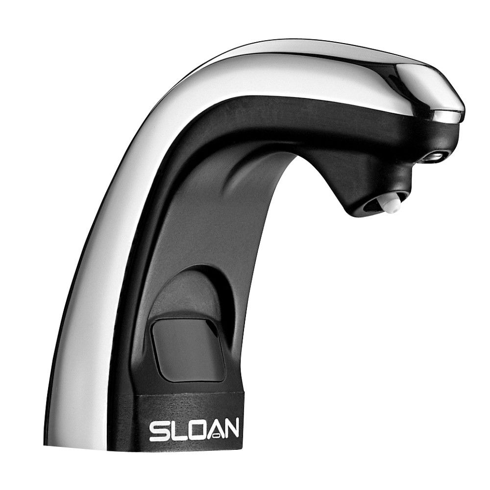 faucets standing washbasin product metal solis single free electronic sloan eaf prod faucet tap