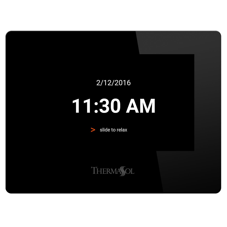 ThermaSol TTMR-BK Black Touchscreen Steam Shower Controller Only ...