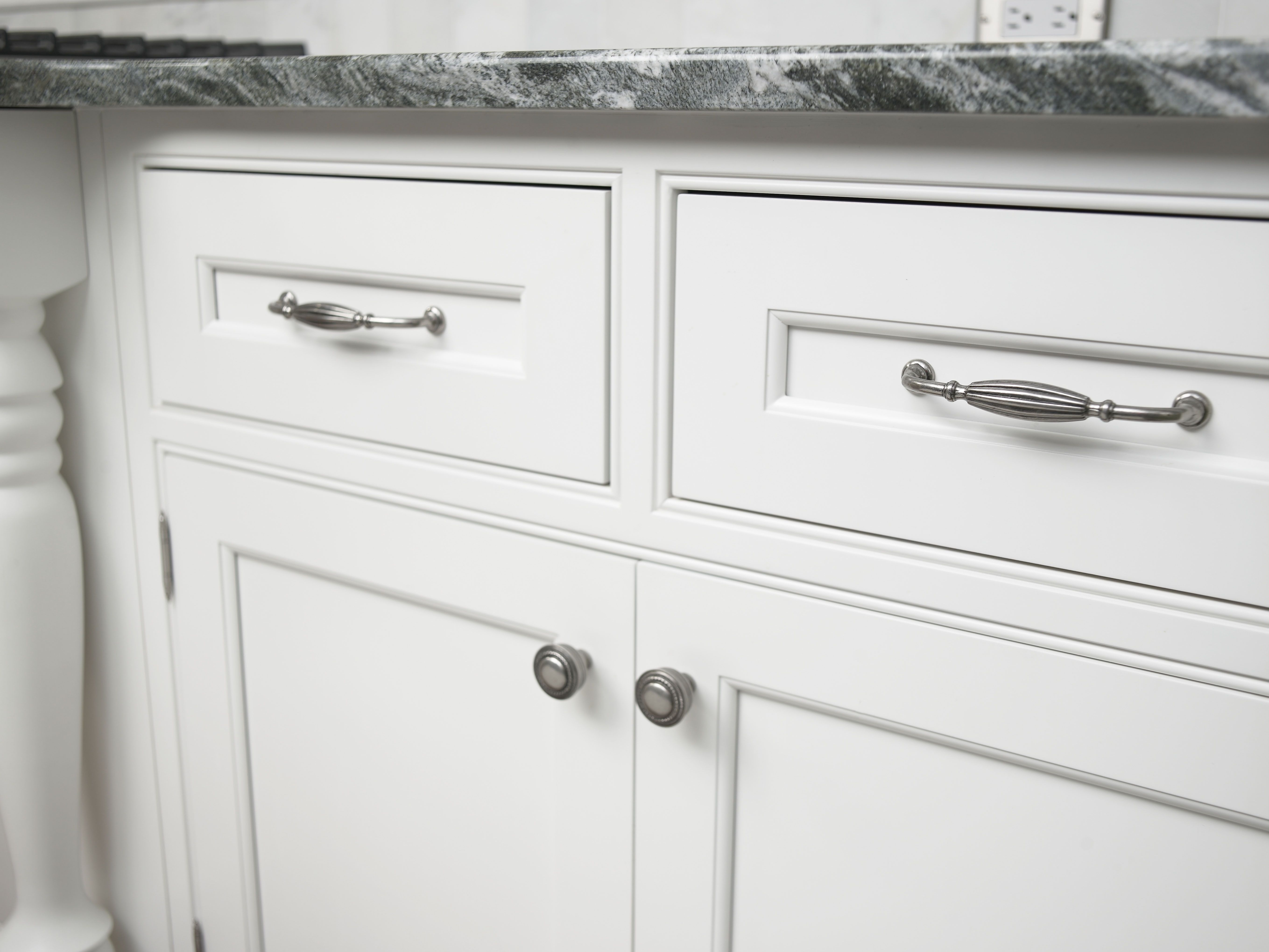 top knobs m143 pewter antique tuscany 5 inch center to center handle cabinet pull - Topknobs