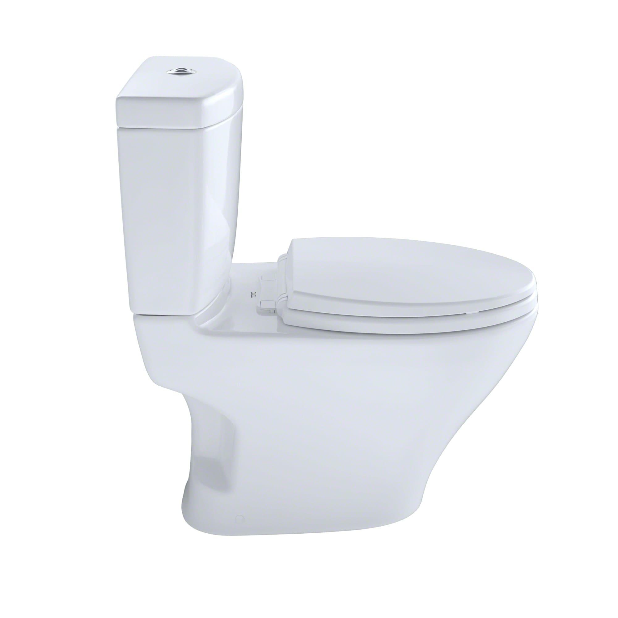 Toto CST412MF.10#01 Cotton Aquia Two Piece Elongated 0.9 GPF Toilet ...