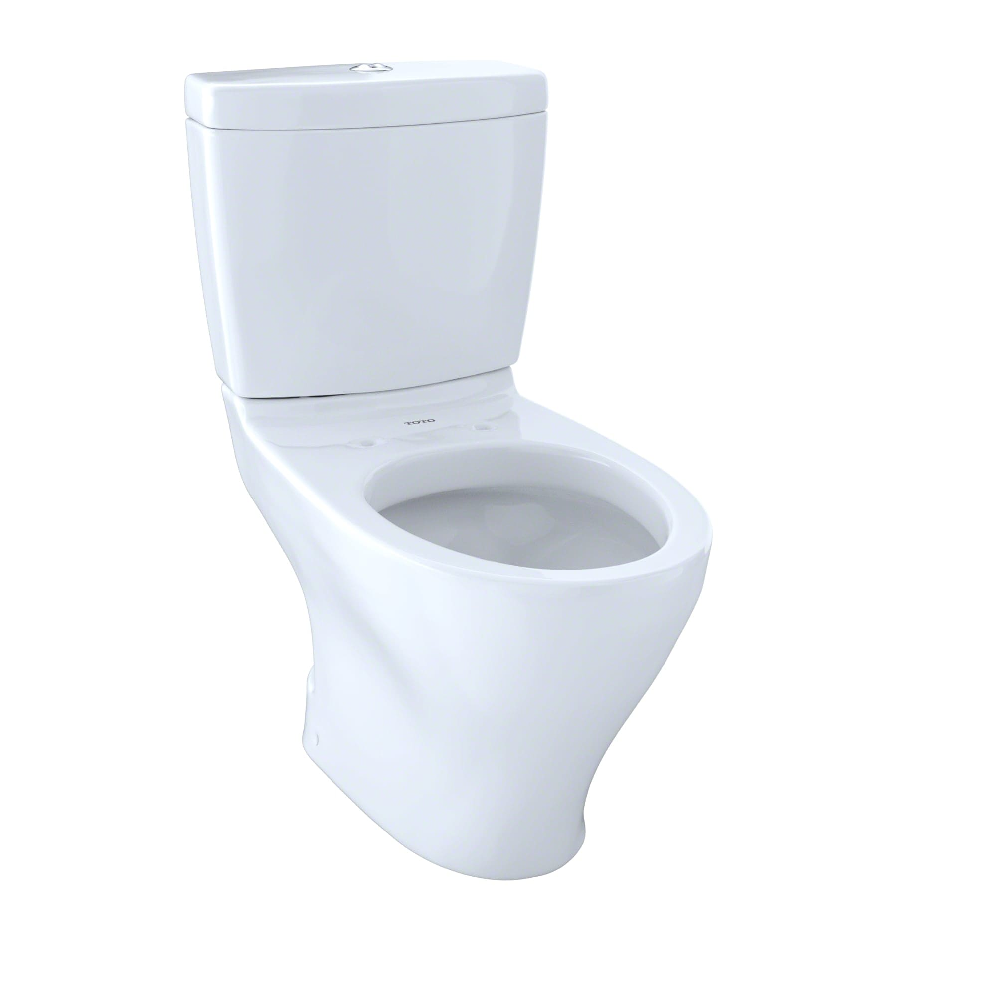 Toto CST412MF.10#01 Cotton Aquia Two Piece Elongated 0.9 GPF Toilet ...
