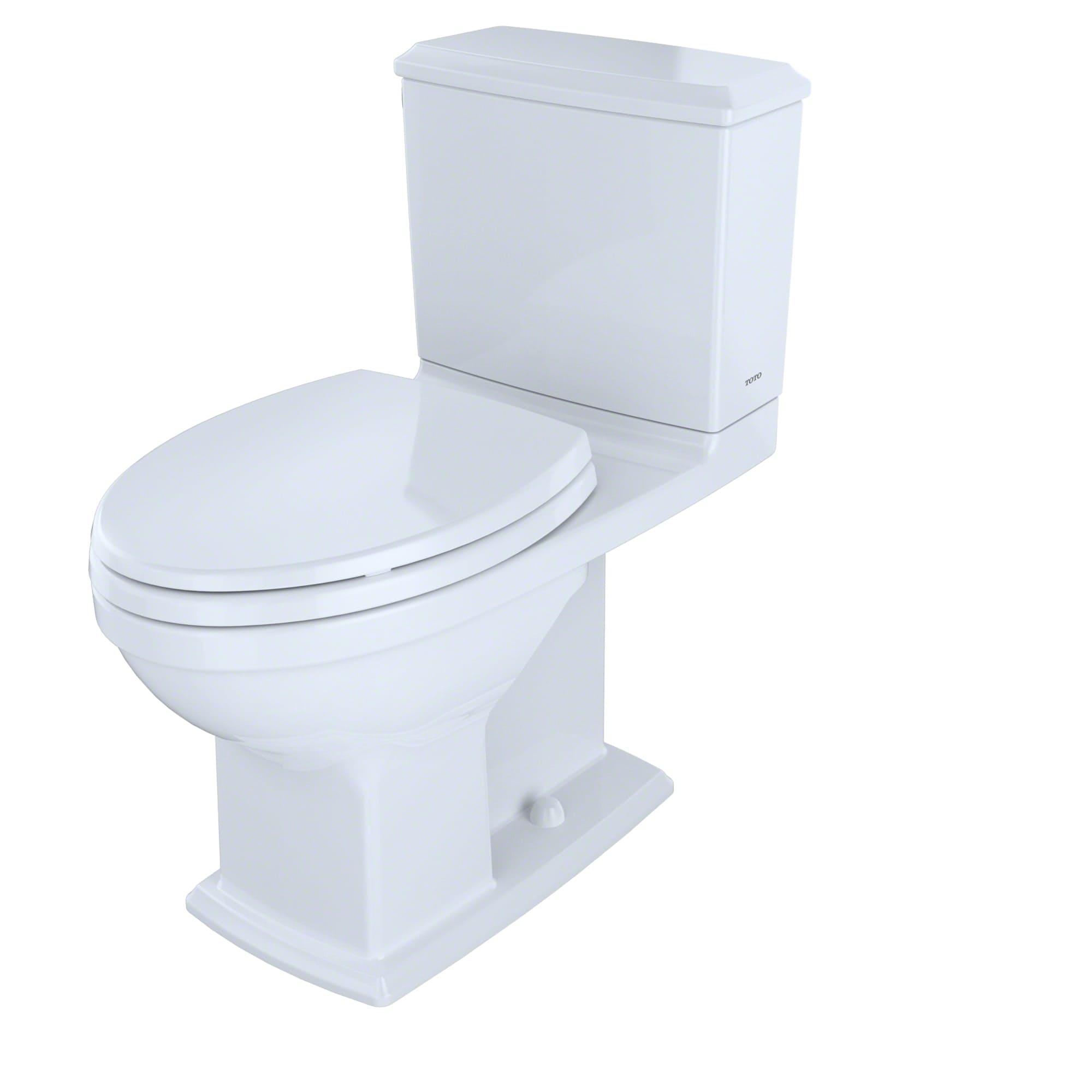 Toto Cst494cemfg 01 Cotton Connelly 0 9 1 28 Gpf Two Piece Elongated Toilet With Cefiontect And Ada Height Less Seat Faucetdirect