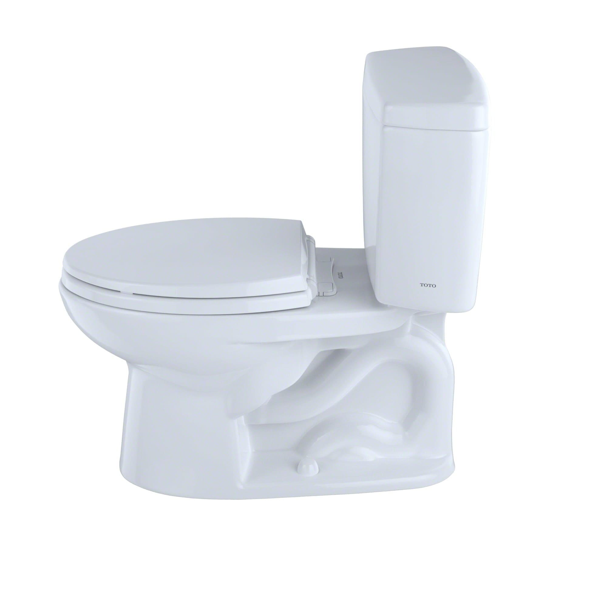 Toto CST744S#03 Bone Drake 1.6 GPF Two Piece Elongated Toilet with G ...