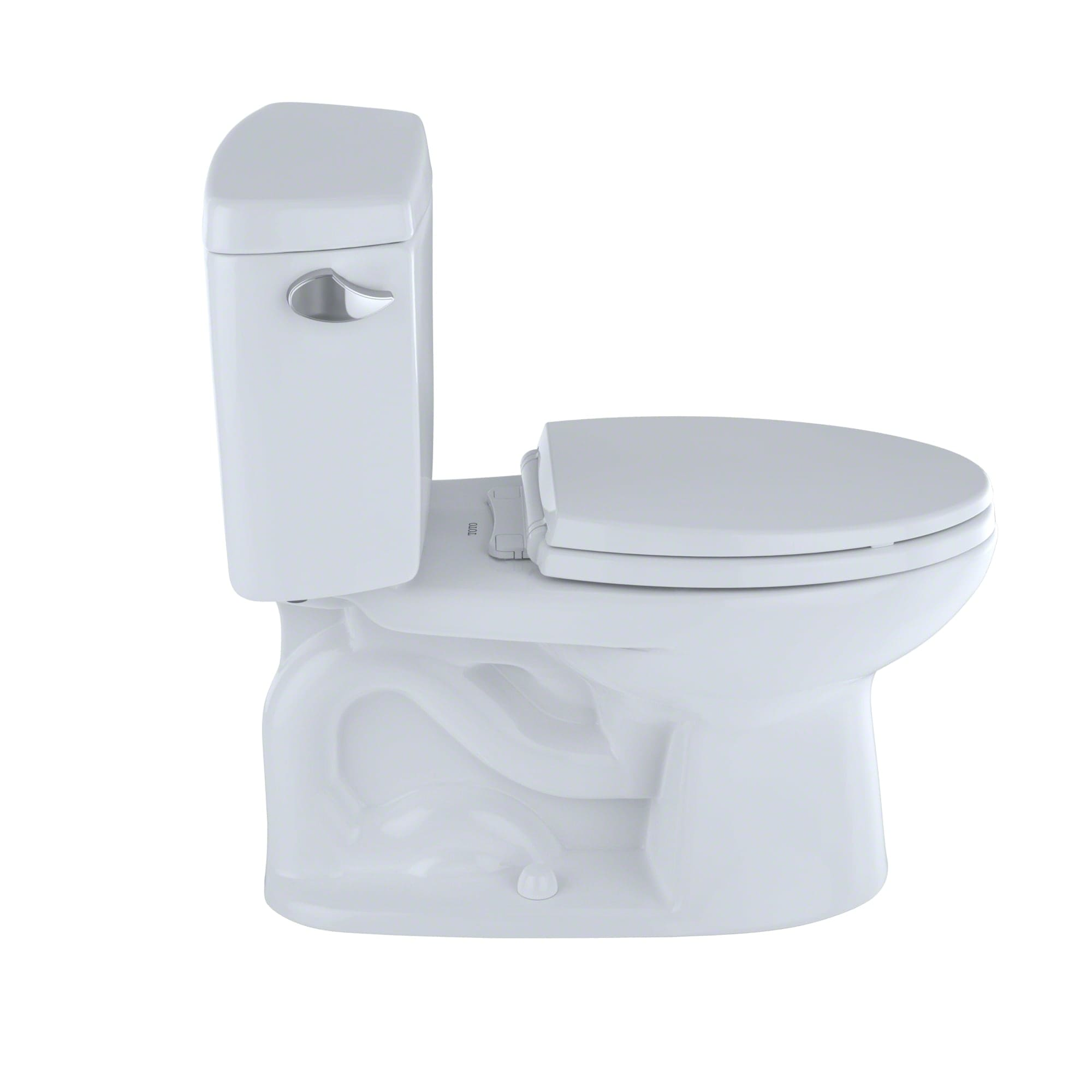 Toto CST744SF.10#01 Cotton Drake 1.6 GPF Two Piece Elongated Toilet ...