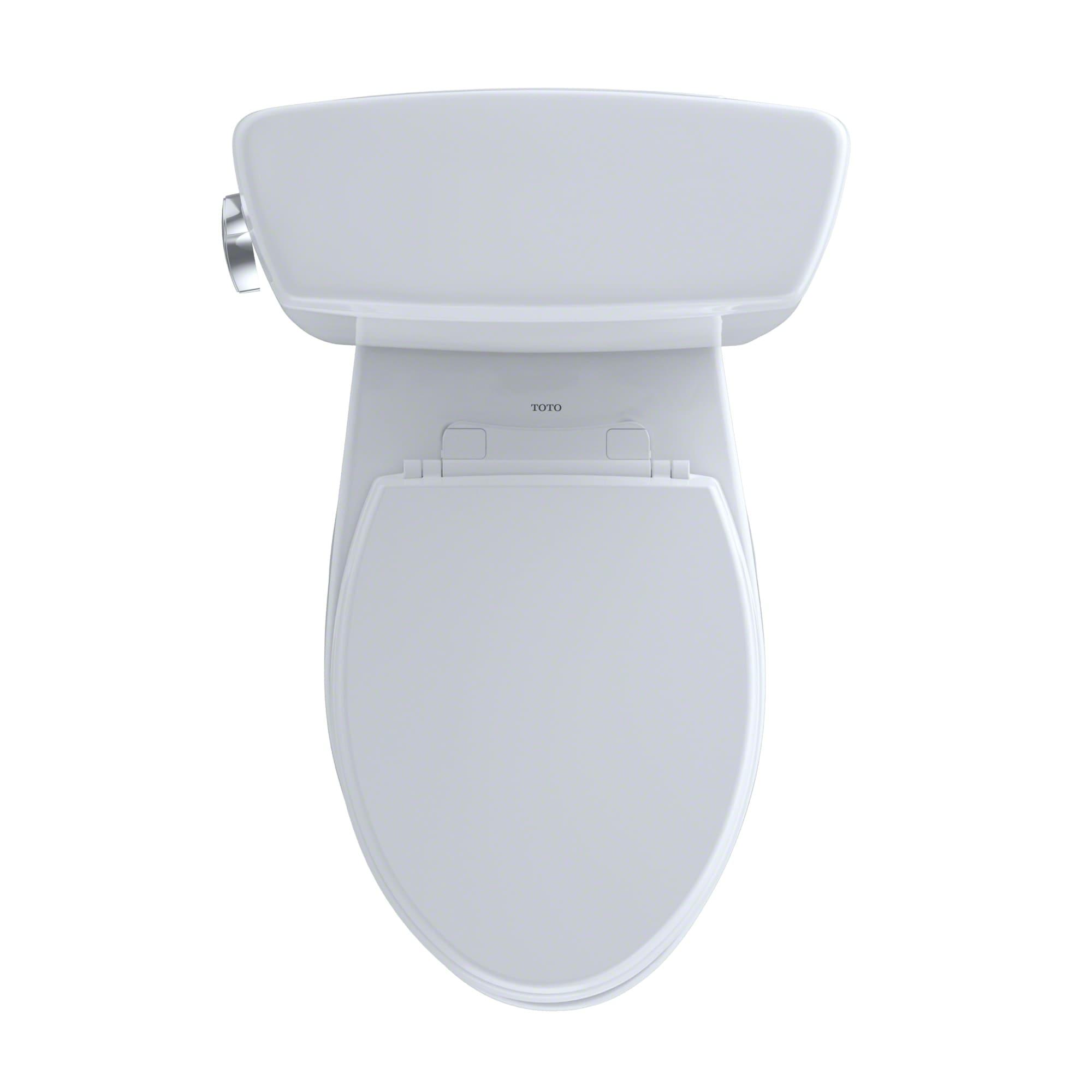 Toto CST744SG#01 Cotton Drake Two Piece Elongated 1.6 GPF Toilet ...