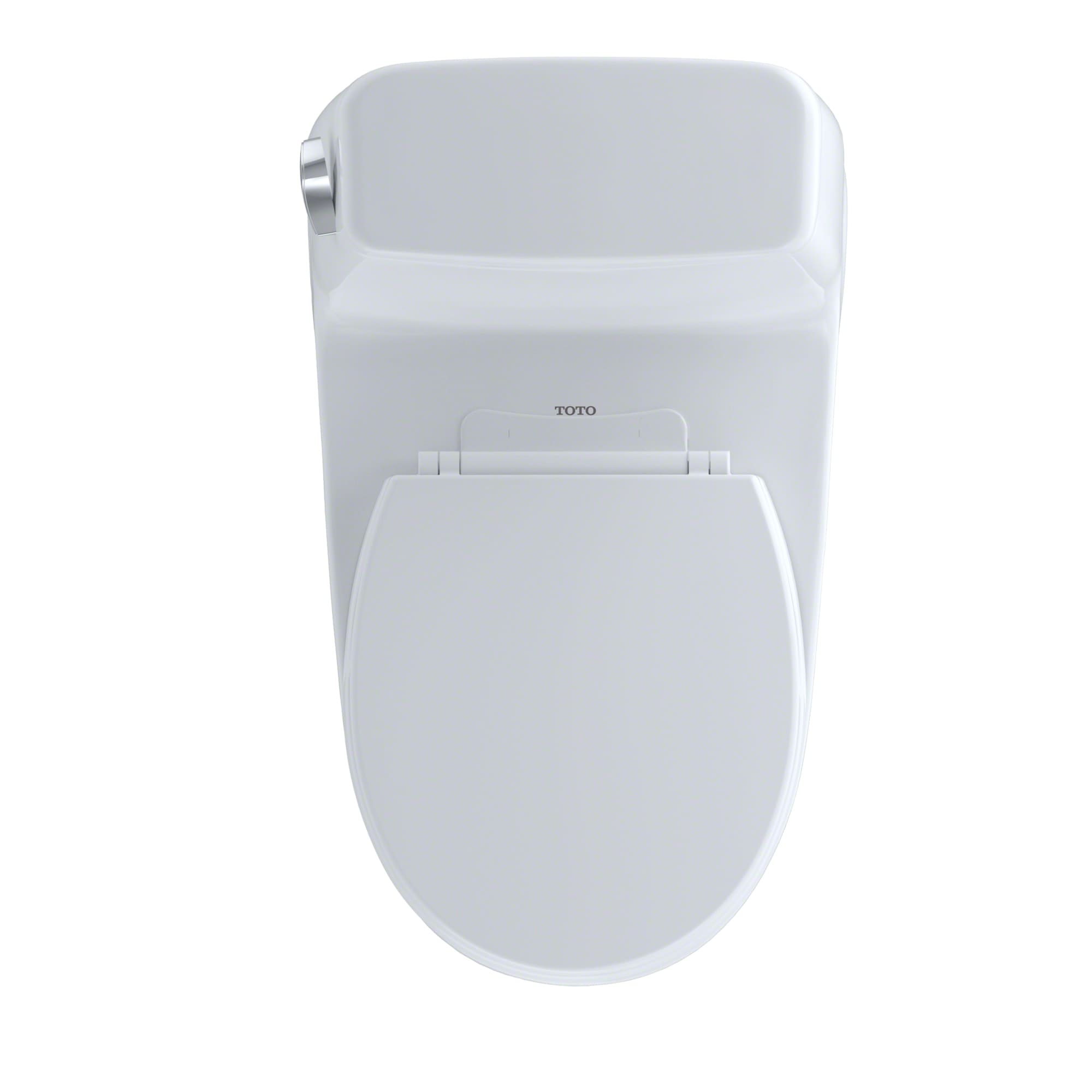Toto MS853113E#03 Bone Eco UltraMax One Piece Round 1.28 GPF Toilet ...