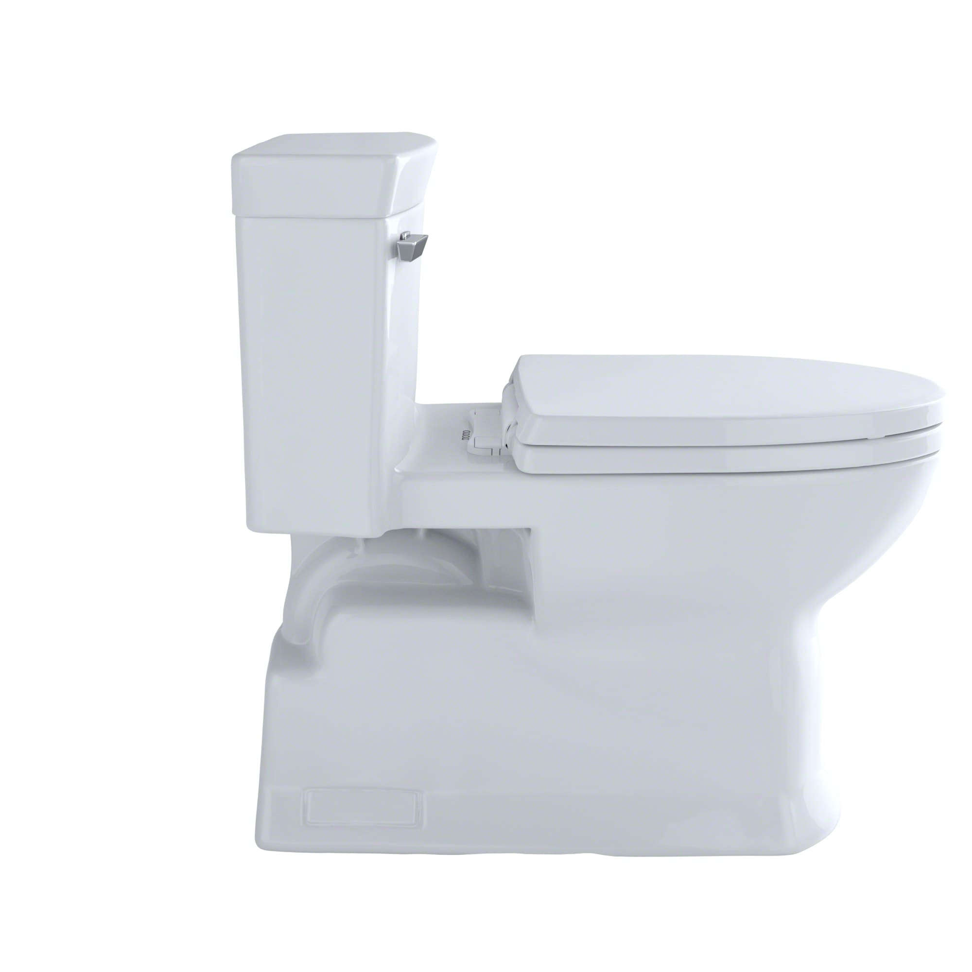 Toto MS964214CEFG#11 Colonial White Eco Soiree One Piece Elongated ...