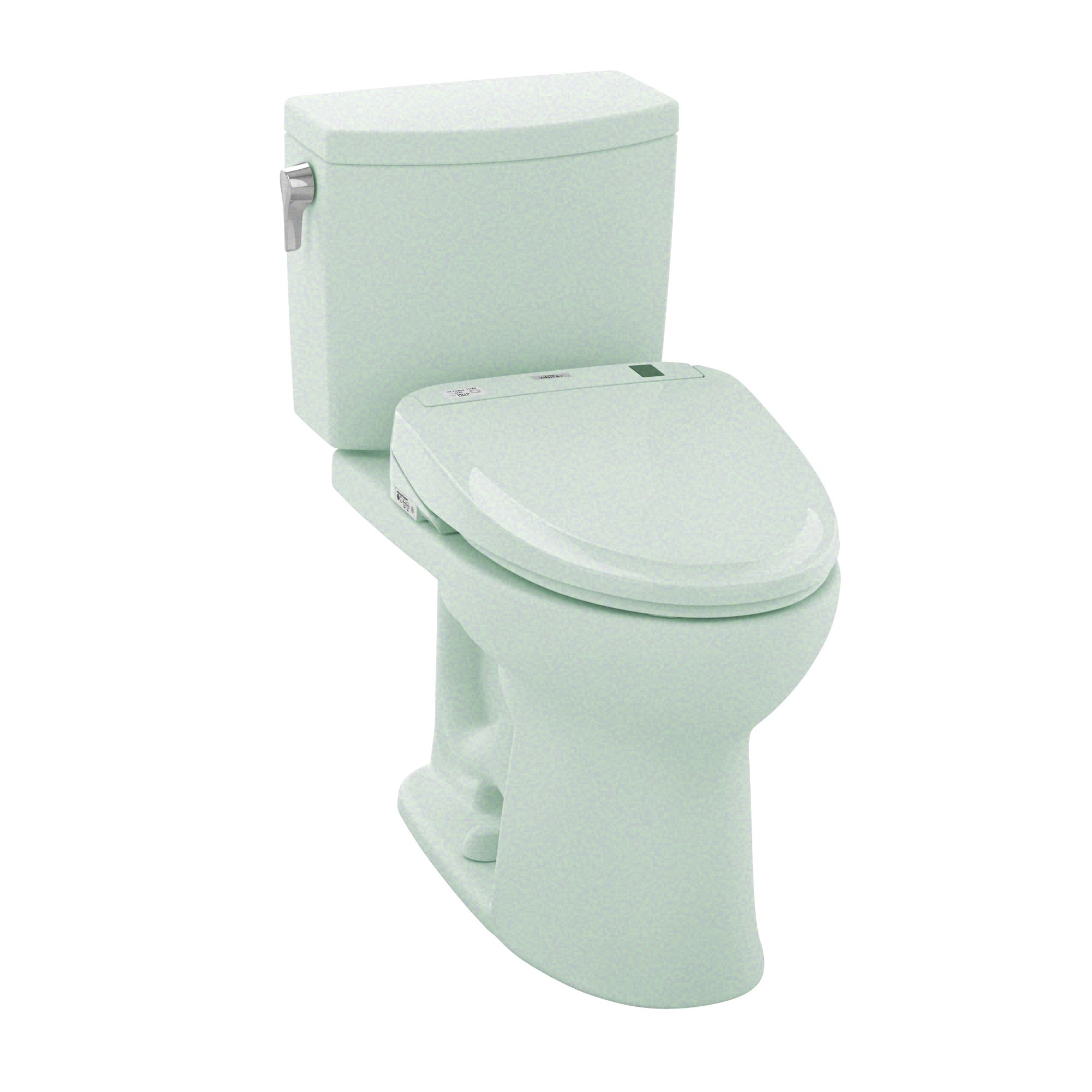 Toto Elongated Toilet Seat.Toto Mw454584cufg