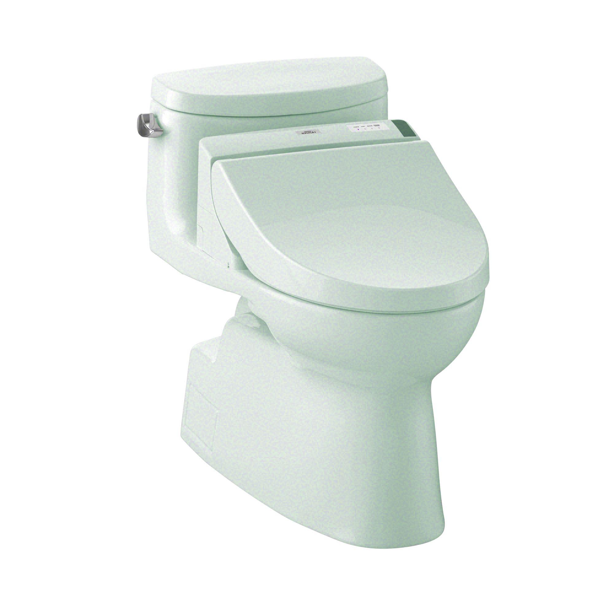 Toto Elongated Toilet Seat.Toto Mw6442044cefg