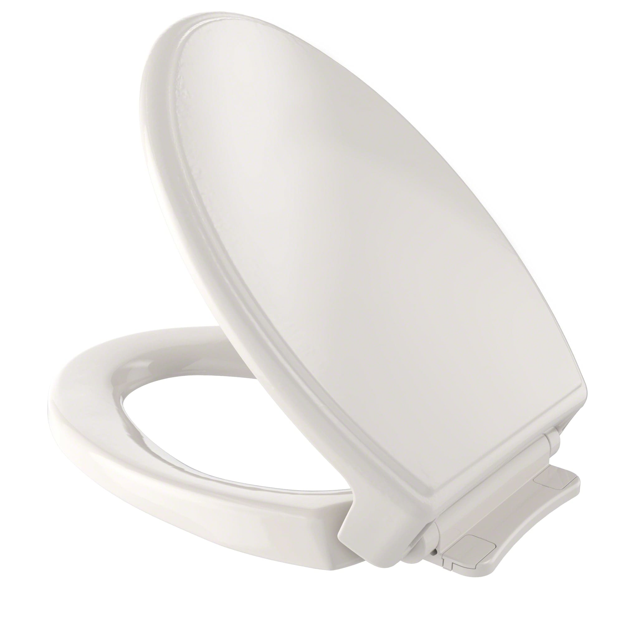 Toto SS154#03 Bone SoftClose Elongated Closed-Front Toilet Seat and ...