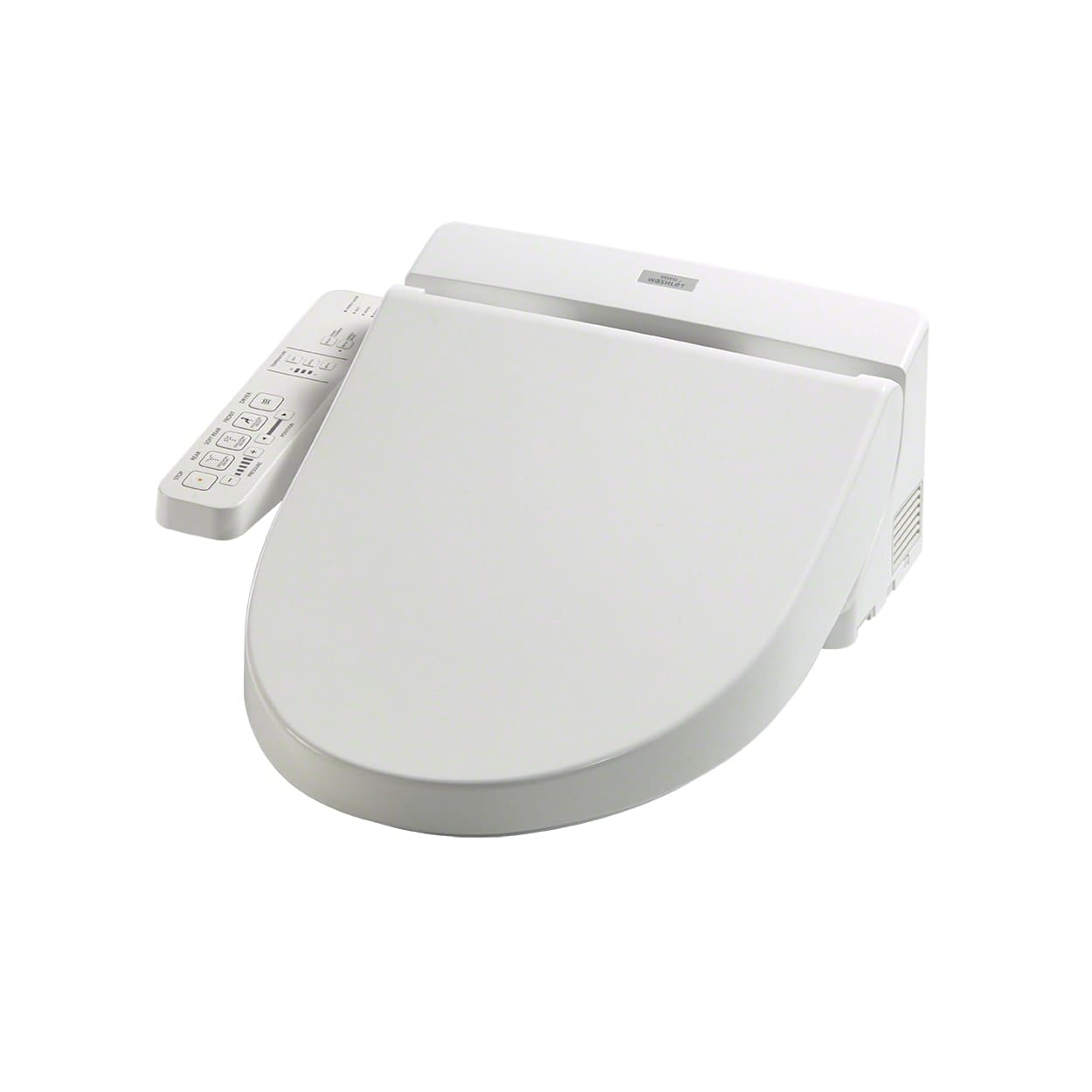 Toto SW2034#01 Cotton C100 Elongated Seat Washlet with Heated Seat ...