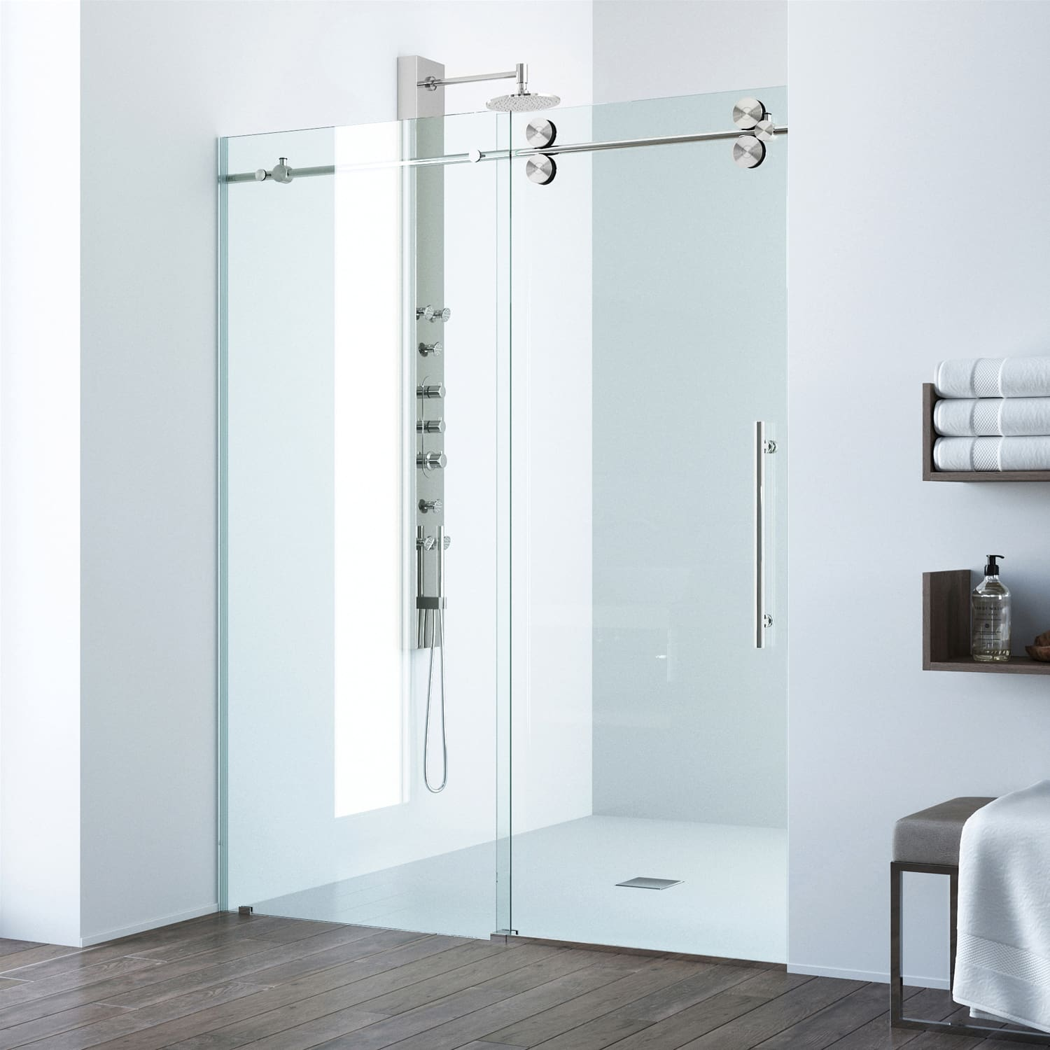frameless shower door vigo collection doors