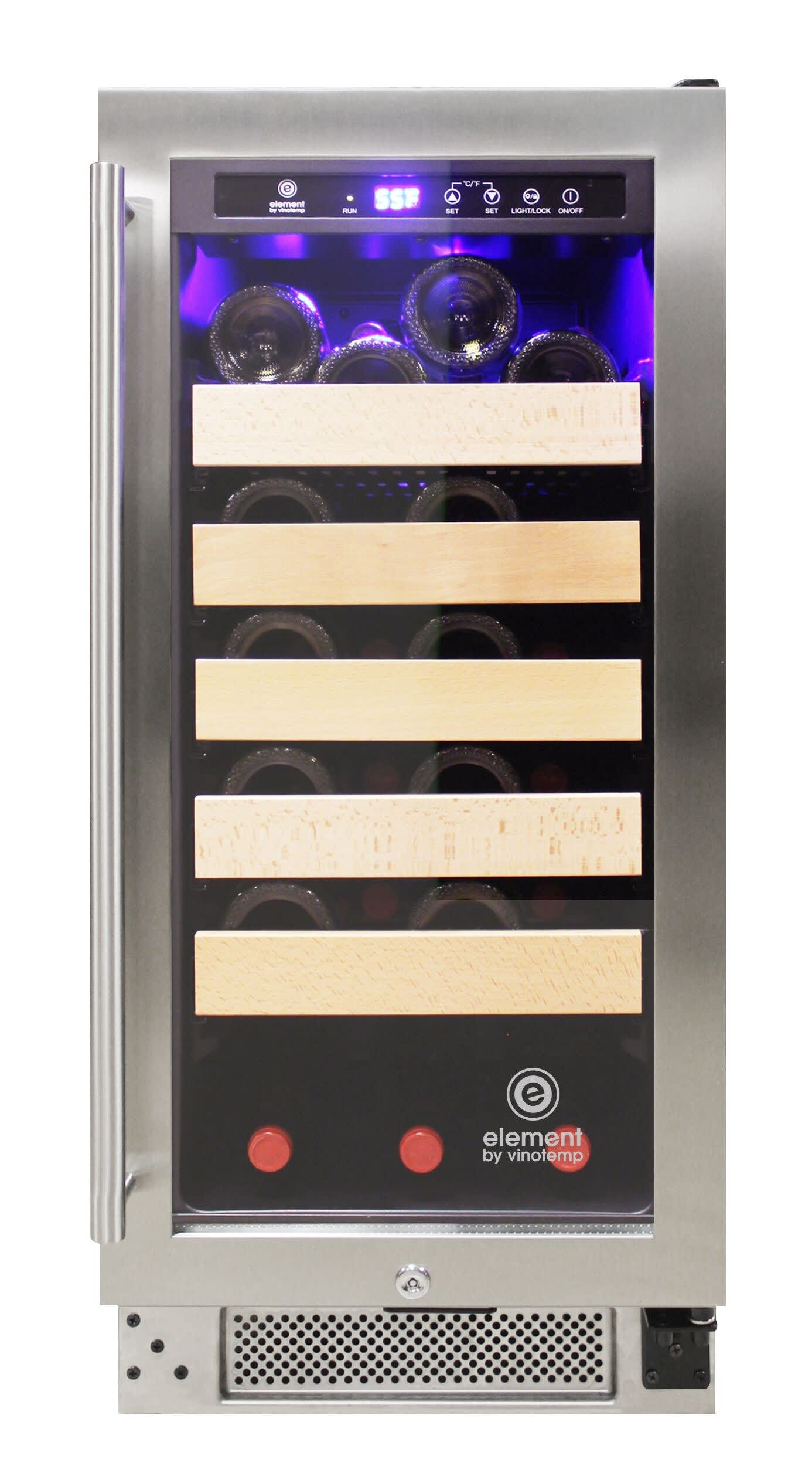 Vinotemp Wine Coolers Beverage Appliances El 33wcst