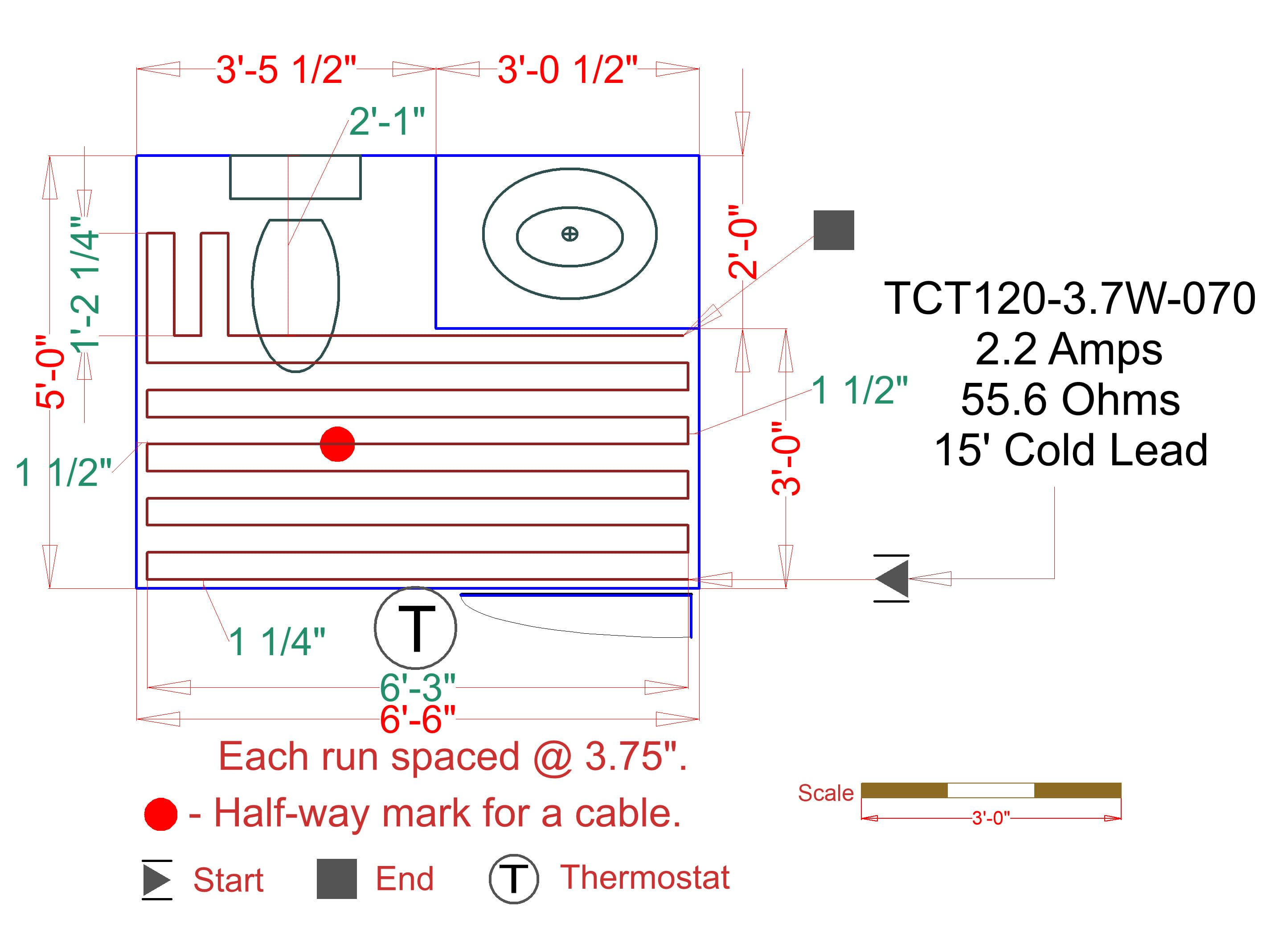 WarmlyYours TCT120-3.7W-150 N/A TempZone 150 Foot Long Radiant Floor on pinout diagrams, electronic circuit diagrams, internet of things diagrams, smart car diagrams, switch diagrams, electrical diagrams, series and parallel circuits diagrams, honda motorcycle repair diagrams, friendship bracelet diagrams, transformer diagrams, lighting diagrams, engine diagrams, led circuit diagrams, sincgars radio configurations diagrams, hvac diagrams, motor diagrams, troubleshooting diagrams, gmc fuse box diagrams, snatch block diagrams, battery diagrams,