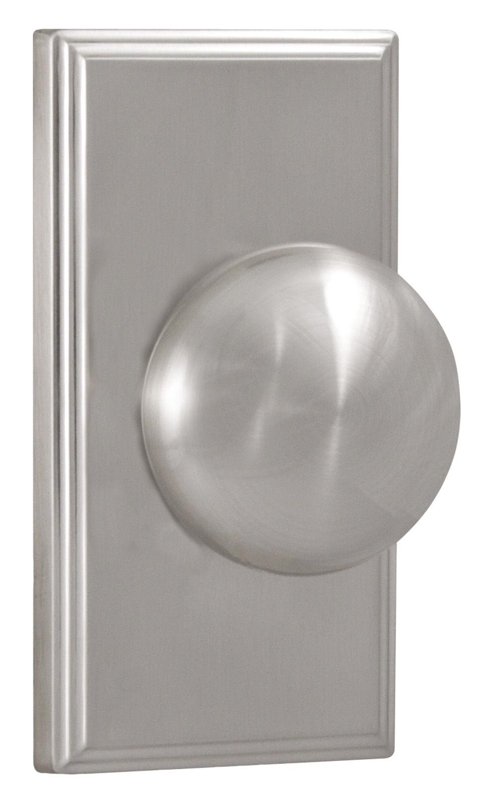 Weslock 03710ININSL20 Satin Nickel Impresa Privacy Door Knob with ...