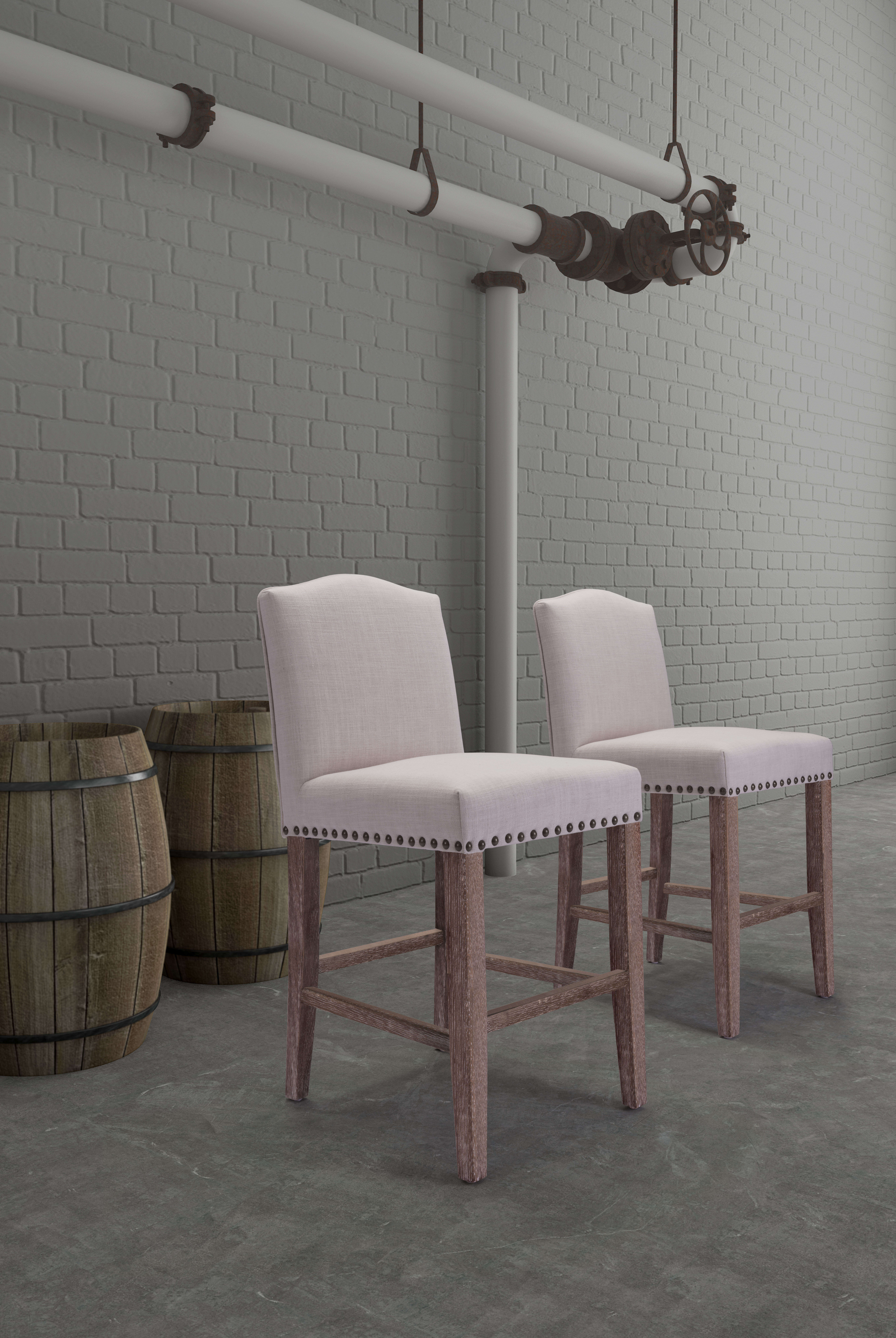 Zuo modern stools indoor furniture pasadena bar chair