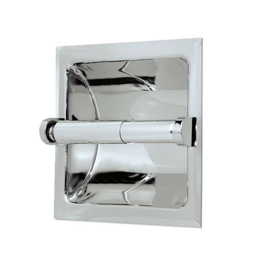 Gatco 782 Recessed Toilet Paper Holder Chrome 2day Delivery Ebay