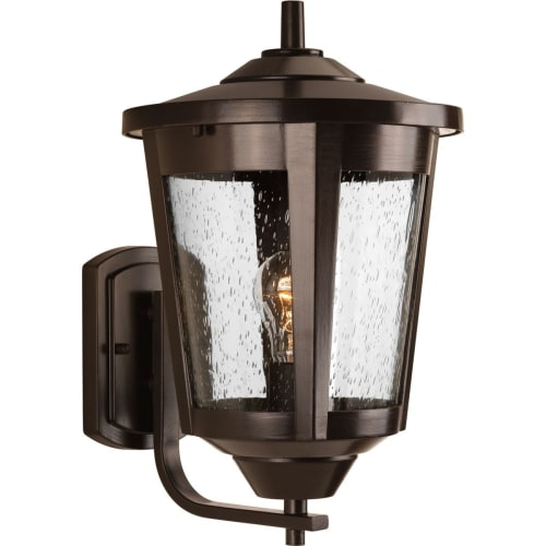 Progress Lighting P6075 East Haven 1 Light 15 Tall Outdoor Wall Sconce With See