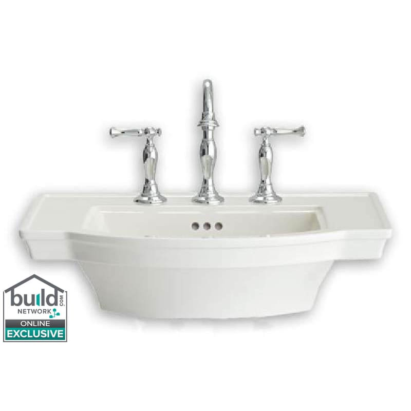 Super American Standard 0900001 Estate 24 Pedestal Bathroom Sink Ibusinesslaw Wood Chair Design Ideas Ibusinesslaworg