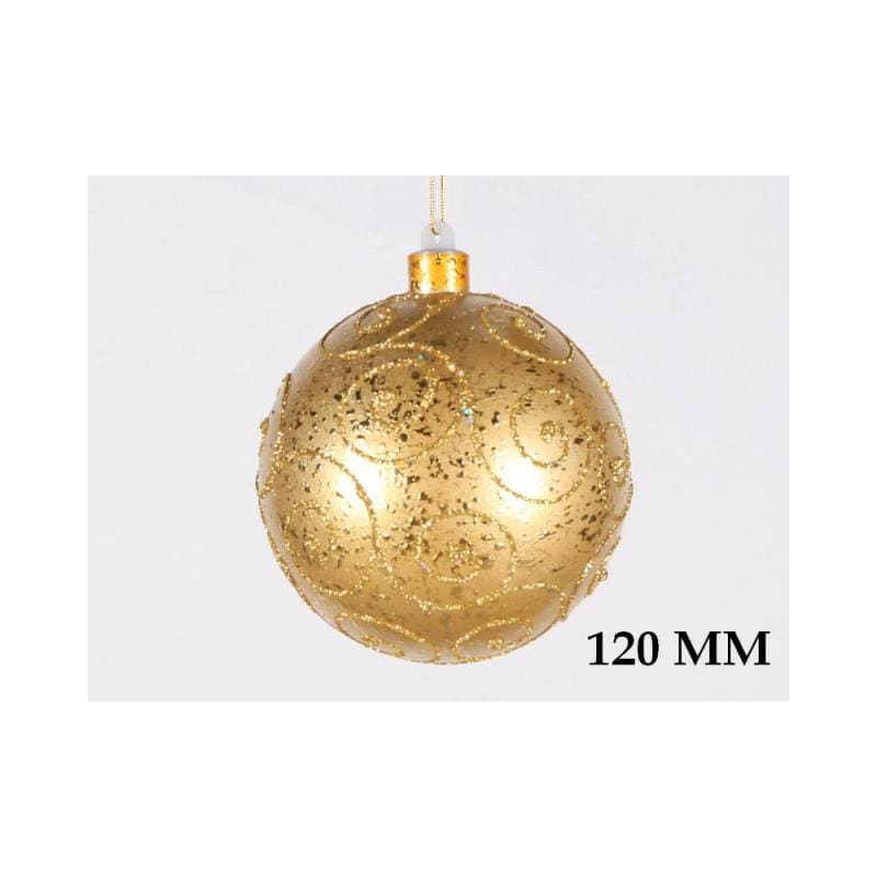 Christmas at Winterland WL-BALL-120-GO 4.7 Inch Ball