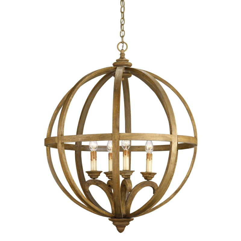 Currey And Company Phone Number: Currey And Company 9015 Axel Orb 41H 4 Light Chandelier