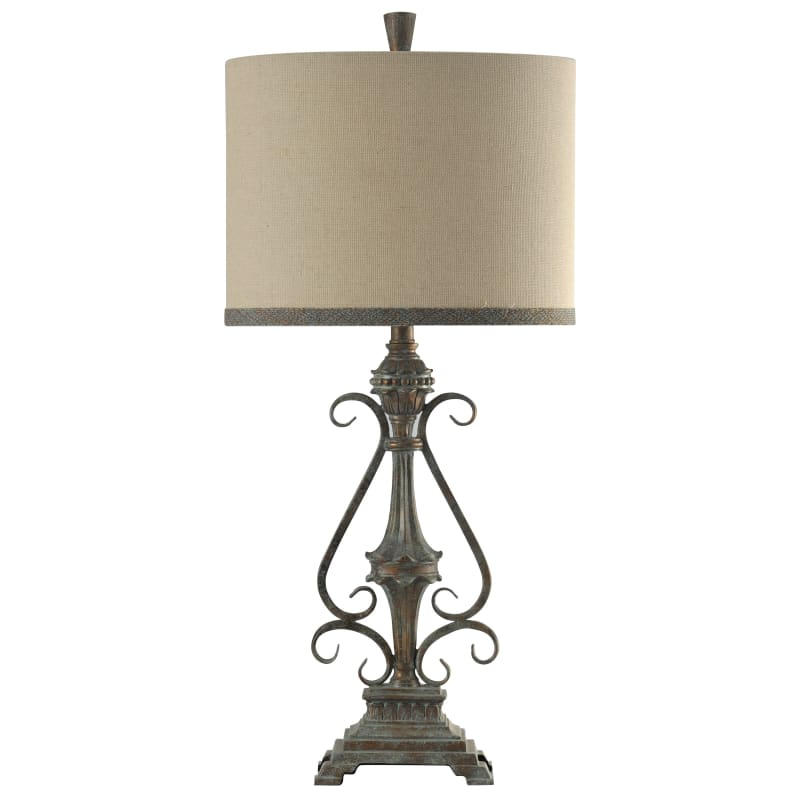 Delacora Sc L314186 Girona 33 Tall Accent Table Lamp With