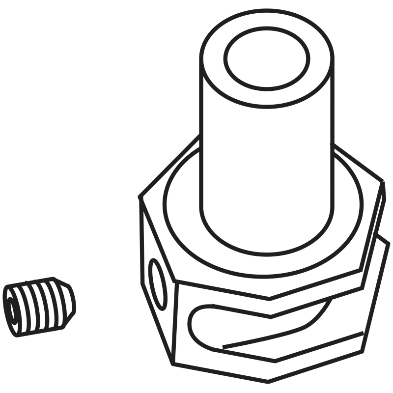 Delta Rp52221 Adapter And Screw