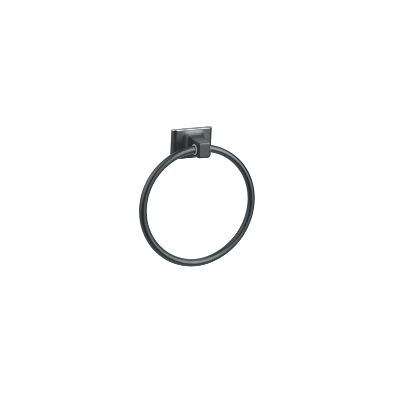 Design House 539239 Oil Rubbed Bronze Towel Ring from the Millbridge Collection Oil Rubbed Bronze Bathroom Hardware Towel Ring
