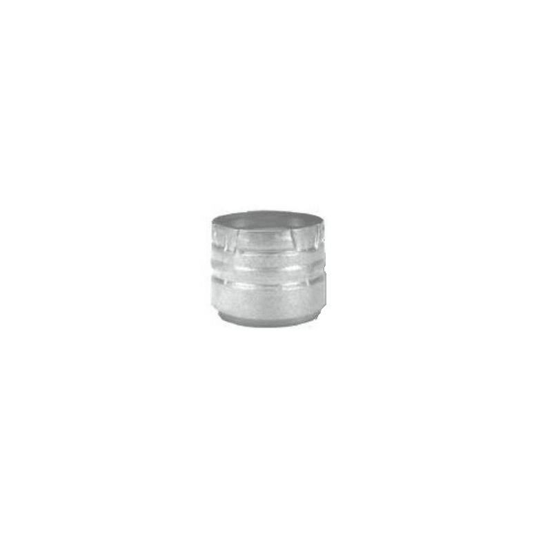 """3"""""""" Inner Diameter - PelletVent Pro Type L Chimney Pipe - Double Wall - Appliance Adapter Stainless Steel Vent Pipe Type L Adapter - DuraVent 3PVP-AD"""