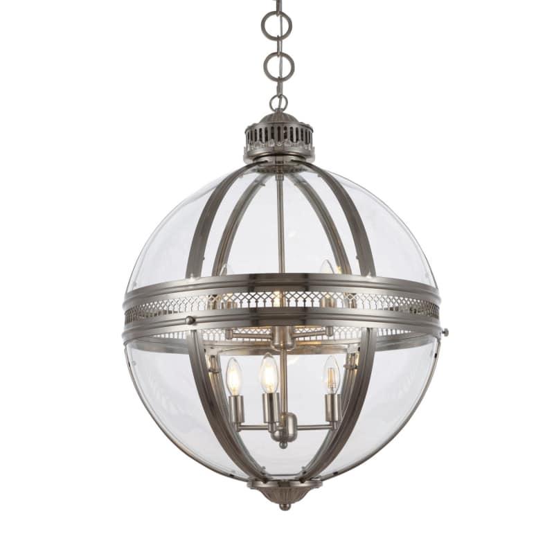 Casanova 6 Light 24 Wide Globe Chandelier