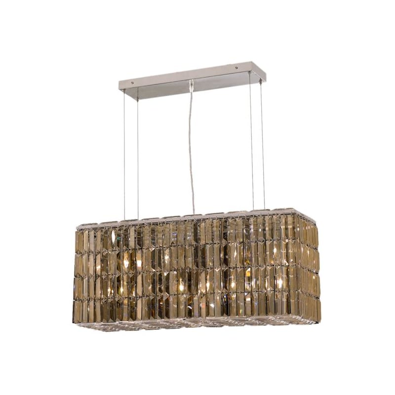 UPC 842814130029 product image for Elegant Lighting 2018D32C-GT Maxime 8-Light Crystal Chandelier, Finished in Chro | upcitemdb.com