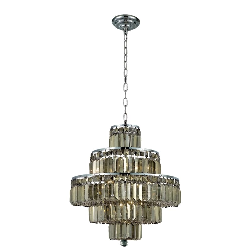 UPC 842814130111 product image for Elegant Lighting 2038D20C-GT Maxime 13-Light, Five-Tier Crystal Chandelier, Fini | upcitemdb.com