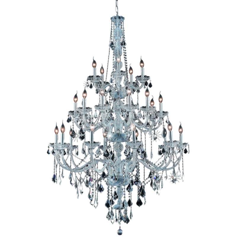 UPC 842814129085 product image for Elegant Lighting 7825G43C Verona 25-Light, Three-Tier Crystal Chandelier, Finish | upcitemdb.com