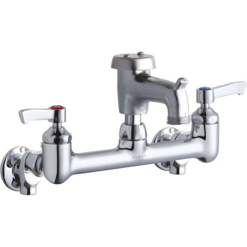 Elkay Lk940br03l2s Wall Mount Utility Faucet With Two