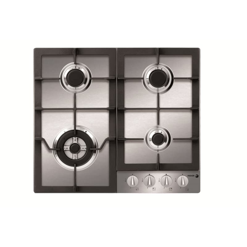 Fagor FA-640STX 24 Inch Wide Built-In Gas Cooktop