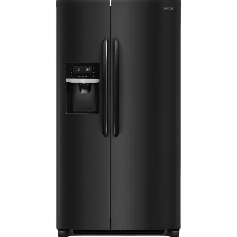 Frigidaire FGSS2635T 36 Inch Wide 25.5 Cu. Ft. Side By Side Refrigerator from th Ebony Black Refrigerators Side By Side