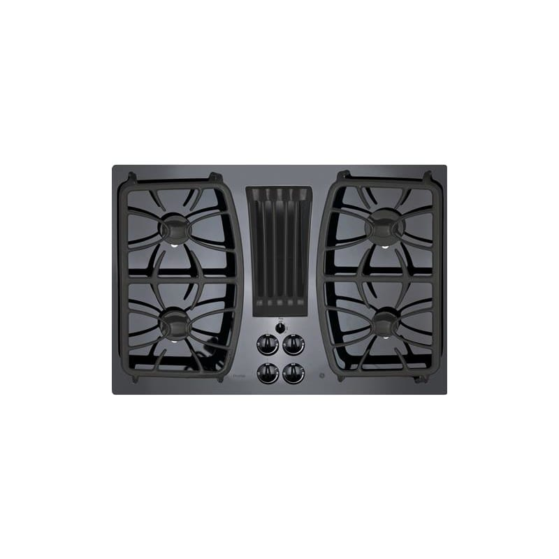Ge Pgp9830 30 Inch Wide Built In Gas Cooktop With Downdraft Exhaust