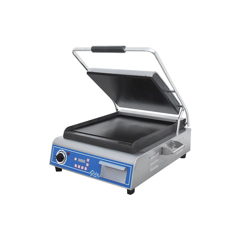 GLOBE GSG14D Deluxe Sandwich Grill with Smooth
