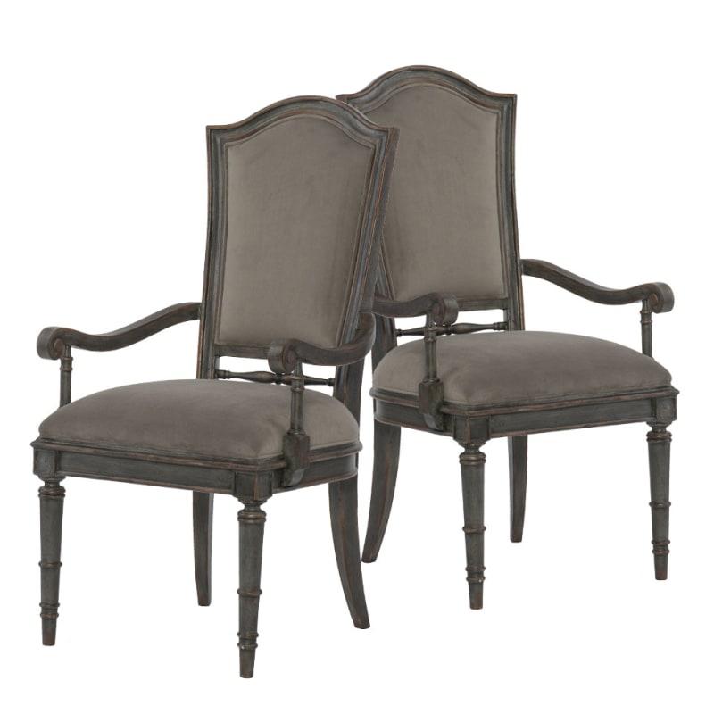 Hooker Furniture 1610 75400 Gry 2pk Arabella 23 14 Wide Two Piece