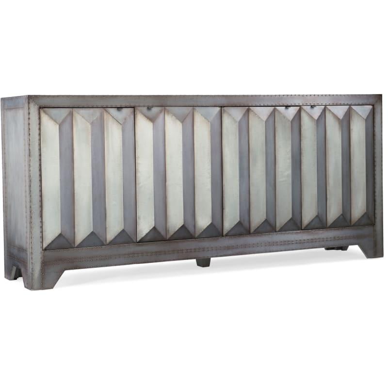 Hooker Furniture 638-85298-MTL 80 Inch Wide Hardwood